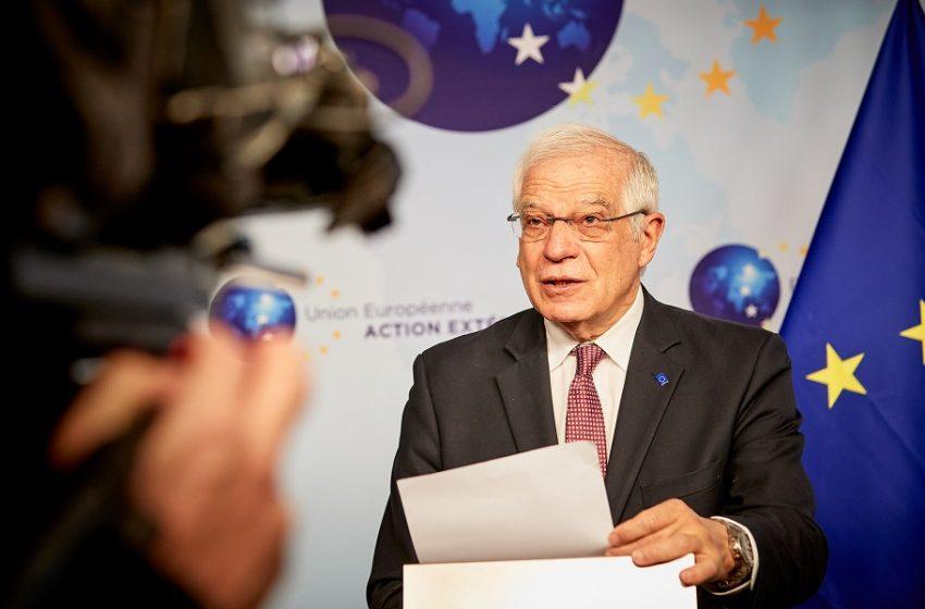 Μπορέλ: Στην Τουρκία υπάρχει ανάγκη για σεβασμό των βασικών δημοκρατικών αξιών