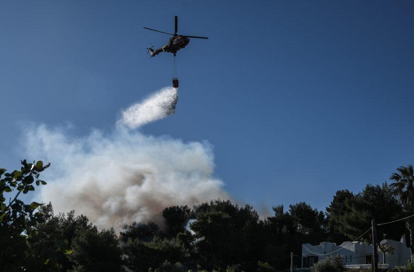 Σε πύρινο κλοιό η χώρα – Φωτιά και στα Νέα Στύρα Εύβοιας