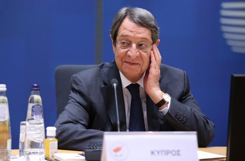 Αναστασιάδης: Άμεση αντίδραση της ΕΕ για τα Βαρώσια ζήτησε από τον Σαρλ Μισέλ