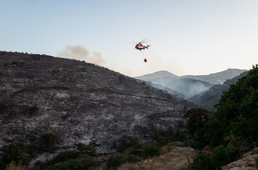 Χανιά: Υπό έλεγχο η φωτιά που ξέσπασε στον Αποκόρωνα