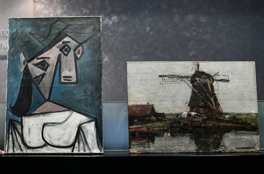 Αντίστροφη μέτρηση για την επιστροφή των δύο κλεμμένων πινάκων στην Εθνική Πινακοθήκη