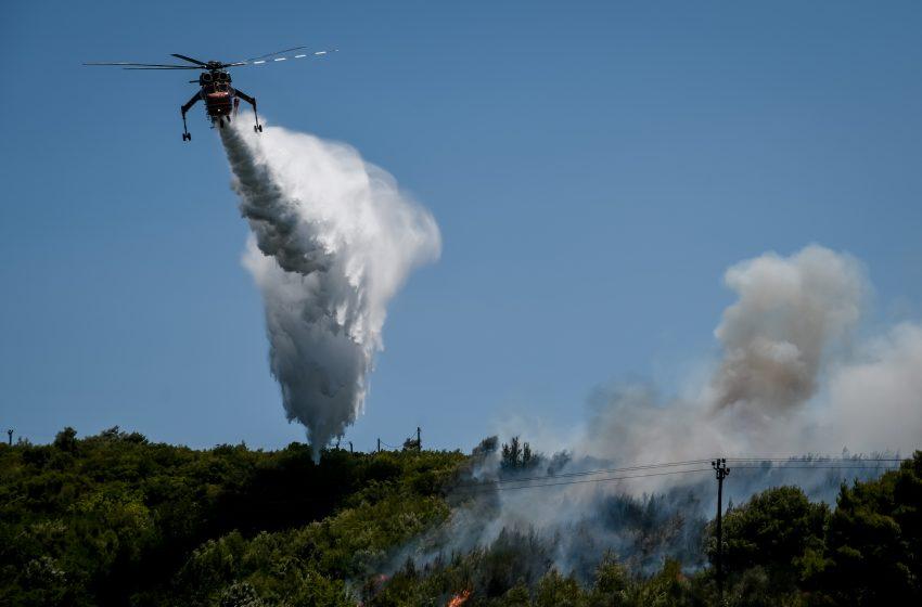 """Πολύ υψηλός κίνδυνος για φωτιά αύριο – Στο """"κόκκινο"""" Αττική και Εύβοια"""