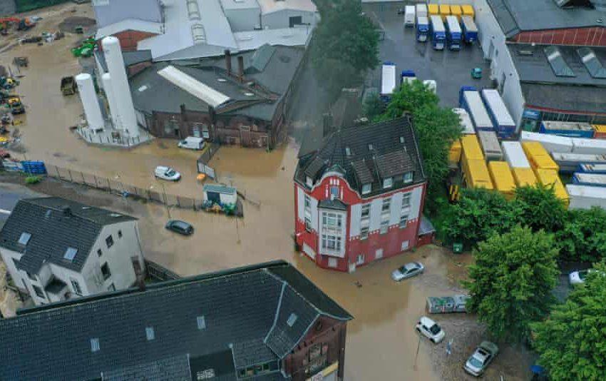 Καταστροφικές πλημμύρες στη Γερμανία – Κατέρρευσαν 30 σπίτια, αγνοούνται άνθρωποι (vid)