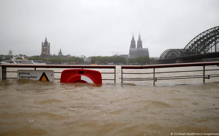 Η κλιματική αλλαγή πίσω από τις φονικές πλημμύρες στη Γερμανία- Πολιτικές αντιδράσεις