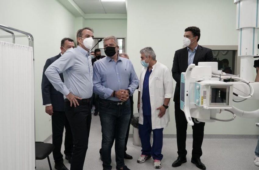 Βουλευτές ΣΥΡΙΖΑ: Ο Μητσοτάκης έκανε εγκαίνια στο Κερατσίνι με εργαζόμενους από άλλους δήμους