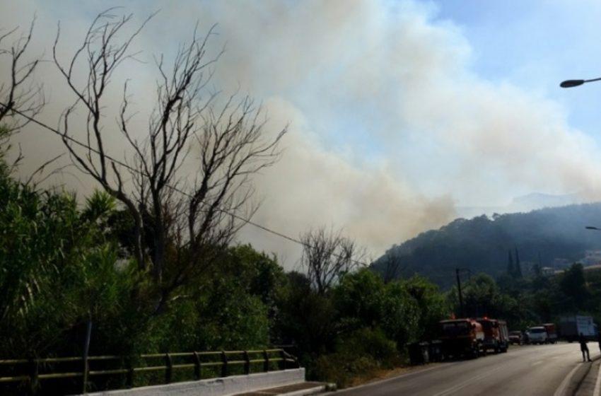 Πυροσβεστική: Η εκτίμηση για την φωτιά στην Σάμο