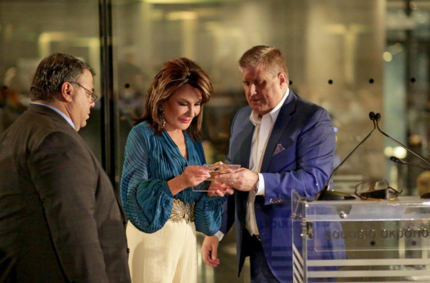 Στη Γ. Αγγελοπούλου-Δασκαλάκη το βραβείο 2021 Hellenism Award της AHEPA