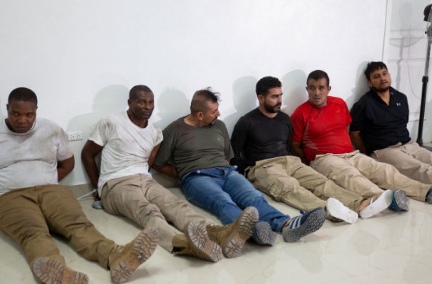 Στη δημοσιότητα φωτό των συλληφθέντων μισθοφόρων που σκότωσαν τον πρόεδρο της Αϊτής