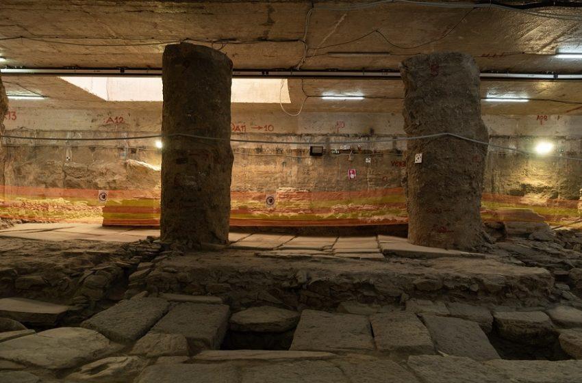 """Σταθμός Βενιζέλου: Αντιδράσεις και κραυγή αγωνίας επιστημόνων για τα αρχαία – Σοκάρει η εικόνα από τη φύλαξη ανάλογων ευρημάτων από τον σταθμό """"Αγία Σοφία"""""""