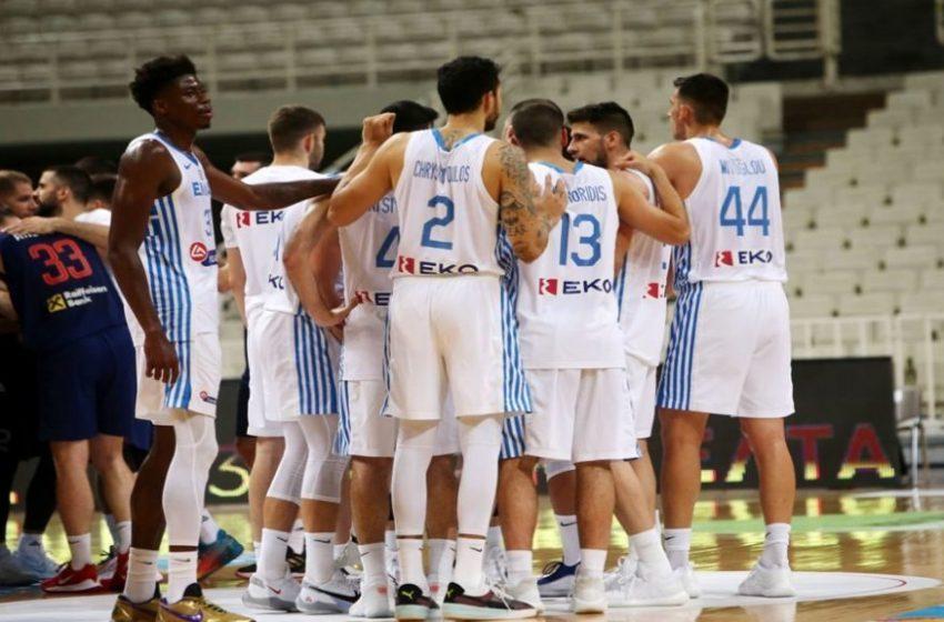Στην ΕΡΤ3 το μεγάλο παιχνίδι της Εθνικής Ομάδας Μπάσκετ με την Τσεχία για την πρόκριση στους Ολυμπιακούς Αγώνες