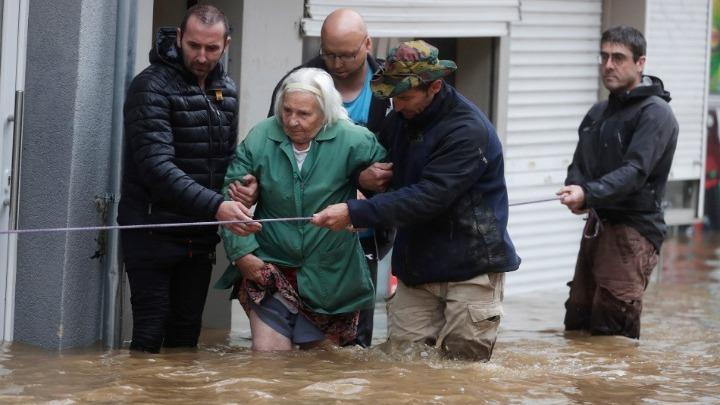 Έξι νεκροί από τις πλημμύρες στο Βέλγιο
