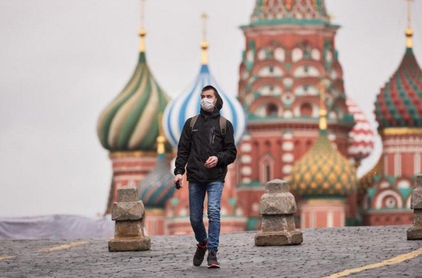 Ρωσία-Covid-19: Οι Αρχές ανακοίνωσαν 25.116 νέα κρούσματα και 787 θανάτους