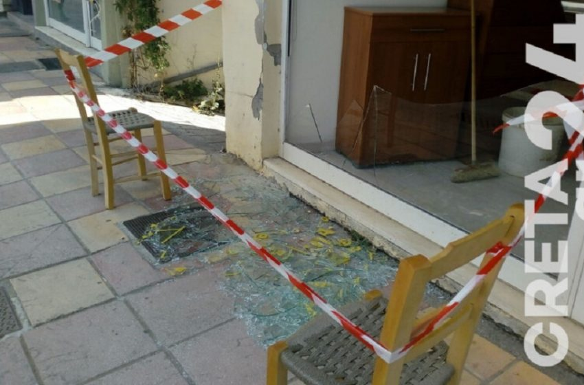 Ηράκλειο: Ζημιές από τον ισχυρό σεισμό των 4,8 Ρίχτερ