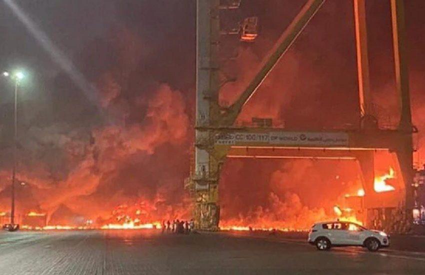 Βίντεο από τη μεγάλη έκρηξη στο Ντουμπάι (vid)