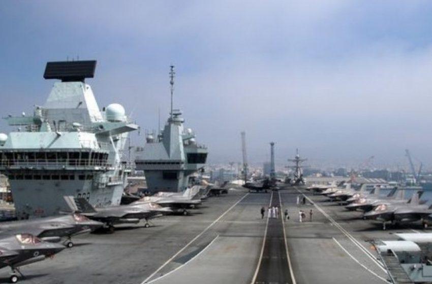 Πάνω από 100 κρούσματα  στο πλήρωμα του HMS Queen Elizabeth μετά από πάρτι στη Λεμεσό – Όλοι εμβολιασμένοι