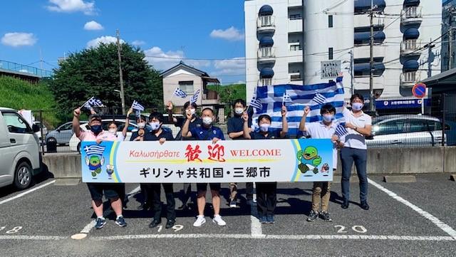 Στην Ιαπωνία τα πρώτα μέλη της ελληνικής ολυμπιακής αποστολής