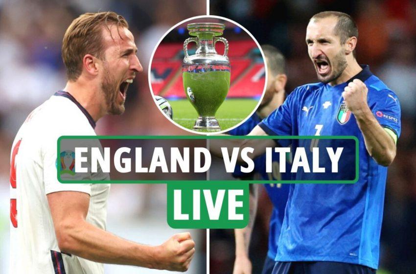 EURO – Τελικός: Προηγείται η Αγγλία με 1-0 της Ιταλίας – Δείτε πώς πανηγυρίστηκε το γκολ (vid)