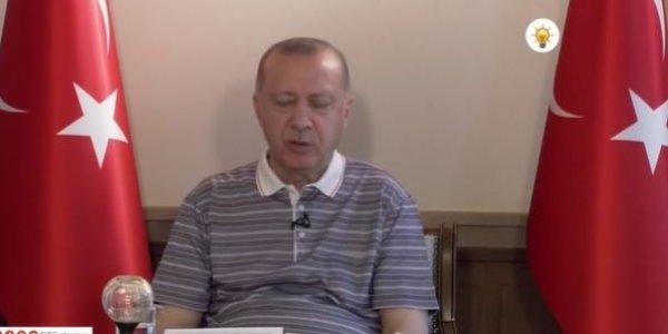 Έκλειναν τα μάτια του Ερντογάν σε απευθείας μετάδοση