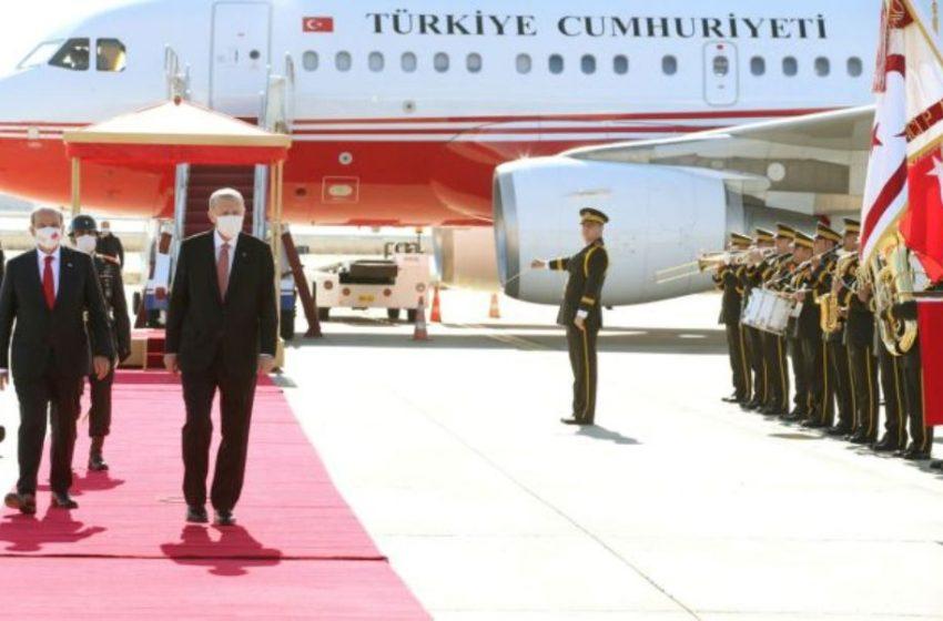 Πρόκληση Ερντογάν: Πάει στα Κατεχόμενα ανήμερα της εισβολής στην Κύπρο