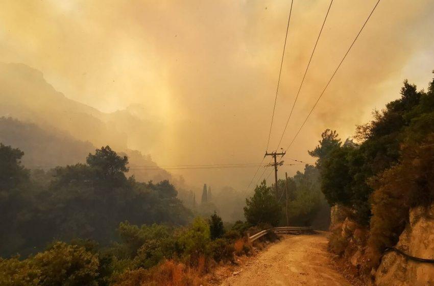 Φλέγεται και ο Βορράς: Πέντε πυρκαγιές σε εξέλιξη σε Κεντρική και Δυτική Μακεδονία