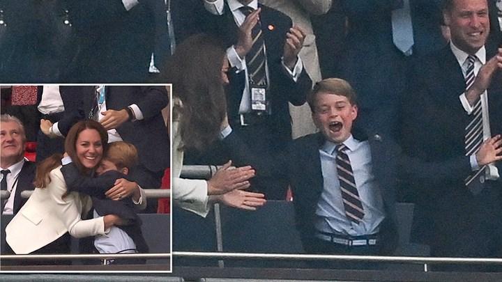 Πρίγκιπας Τζορτζ: Viral οι αντιδράσεις του στον τελικό του Euro (vid)