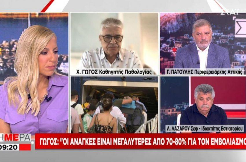 """Γώγος : Και η Τήνος στα """"κόκκινα"""" νησιά μαζί Ίο και Πάρο – Η εικόνα στην Κρήτη"""