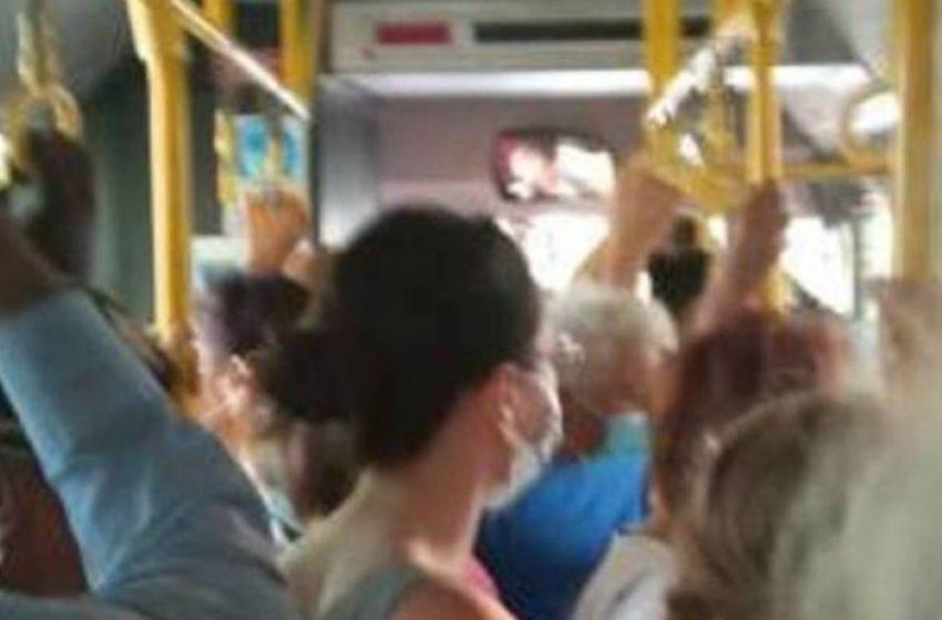 """Πάτρα: """"Ο ένας πάνω στον άλλον"""" σε  λεωφορείο από την Πλαζ"""