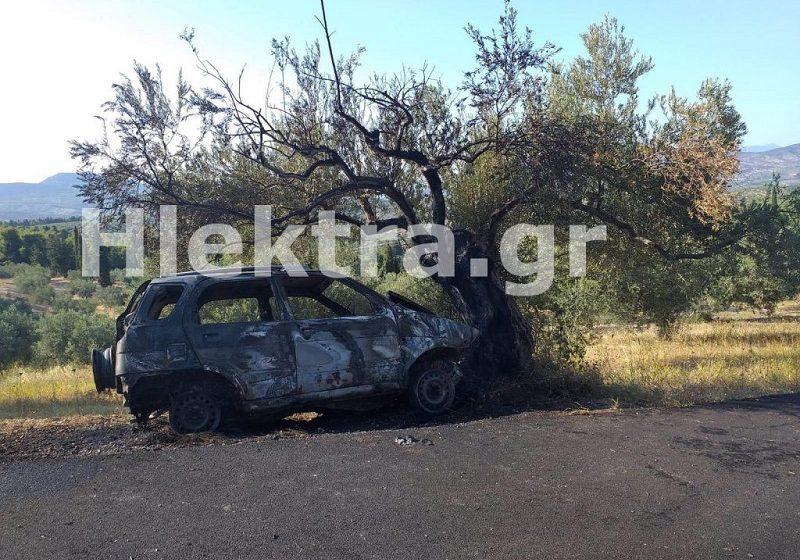 Κορινθία: Βρέθηκε απανθρακωμένος παπάς μέσα στο όχημά του (vid και εικόνες)