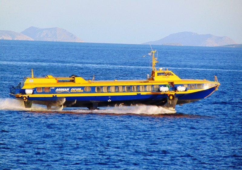 Ύδρα: Μηχανική βλάβη σε flying dolphin με 82 επιβάτες