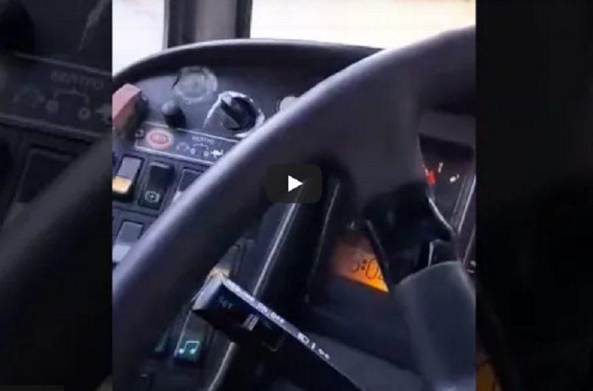 Εκδικήθηκαν με αργία οδηγό του ΟΑΣΘ μετά το βίντεο για πρόβλημα σε λεωφορείο (vid)
