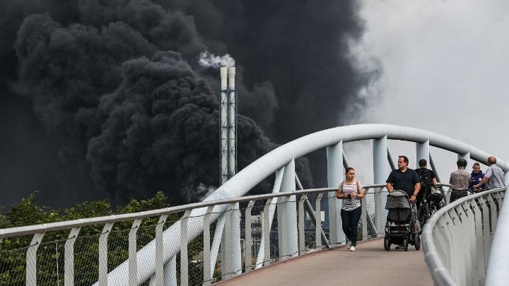 """""""Πολλοί τραυματίες"""" από την έκρηξη στο Λεβερκούζεν"""