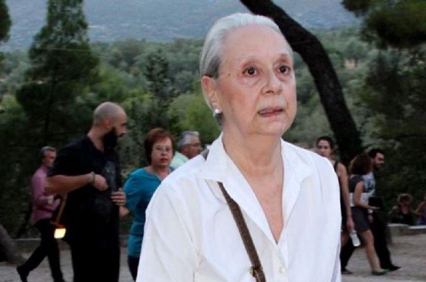 Πέθανε η σπουδαία ηθοποιός Μάγια Λυμπεροπούλου