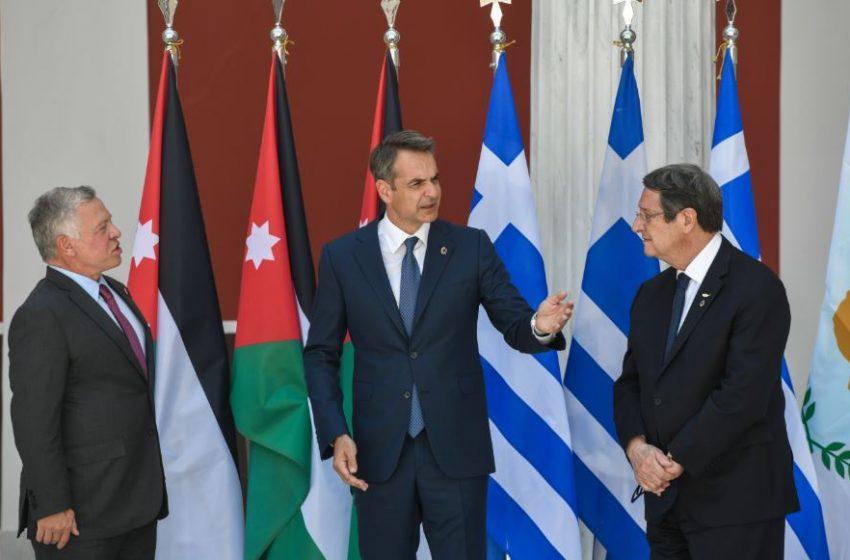 Κοινή δήλωση Ελλάδας – Ιορδανίας – Κύπρου: Στήριξη σε μια δίκαιη, συνολική και βιώσιμη επίλυση του Κυπριακού