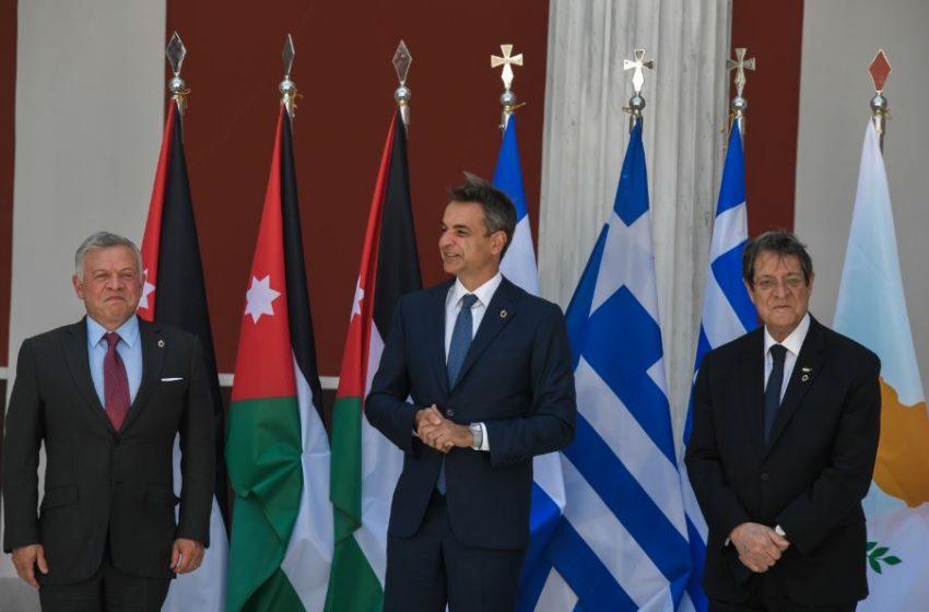 Μητσοτάκης: Η Σύνοδος Κορυφής αντανακλά την δέσμευση των χωρών μας για ειρήνη, σταθερότητα και ευημερία στην περιοχή