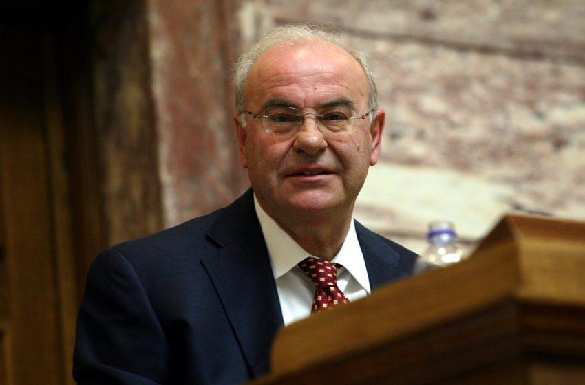 Πέθανε ο πρώην βουλευτής Β' Πειραιά και υφυπουργός της ΝΔ Τάσος Νεράτζης
