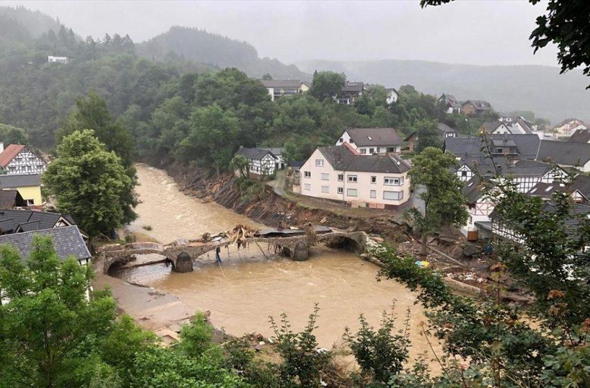Ολλανδία: Τα πλημμυρισμένα ποτάμια απειλούν κατοικημένες περιοχές