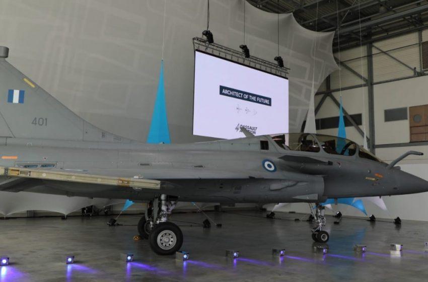 Παρέλαβε το πρώτο Rafale  η Πολεμική Αεροπορία