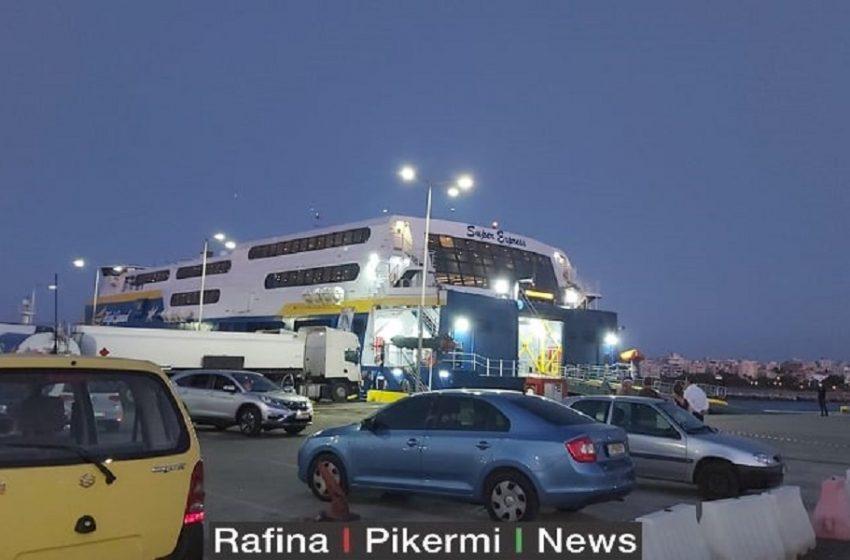 Πλοίο Ραφήνα: Επιβεβαιώθηκαν 14 κρούσματα