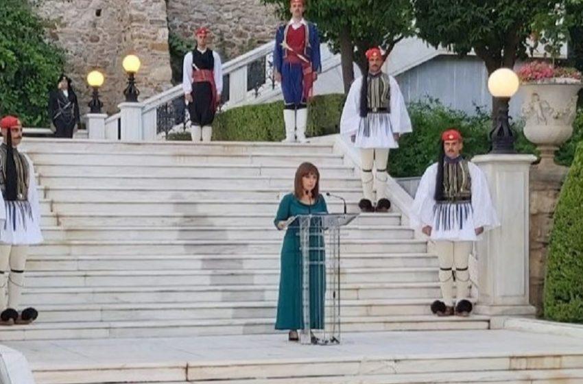 Μήνυμα Σακελλαροπούλου στην Τουρκία: Η Ελλάδα δεν πρόκειται να δεχθεί τετελεσμένα στην Κύπρο