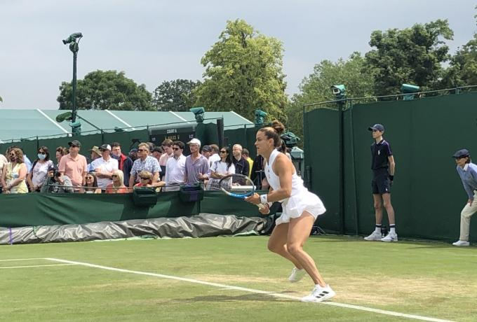 Αποκλείστηκε η Σάκκαρη από το Wimbledon