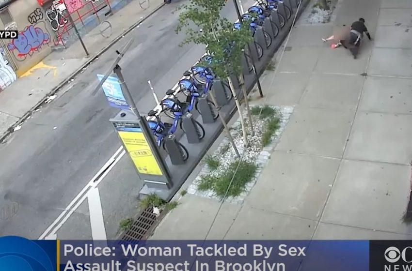 Βίντεο-σοκ: Σεξουαλική επίθεση στην μέση του δρόμου (vid)