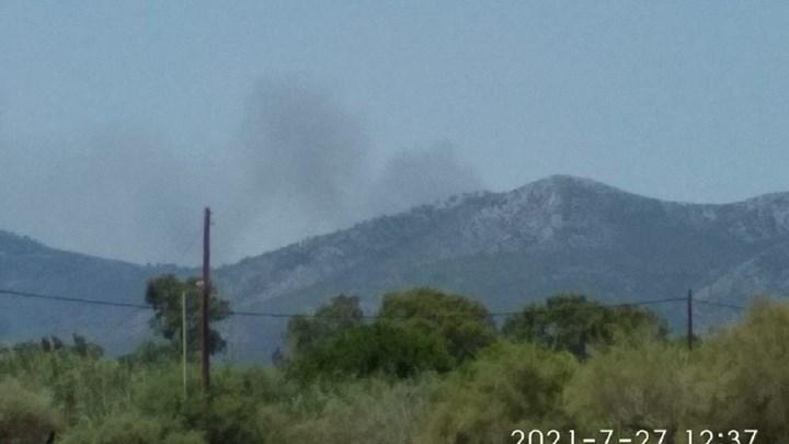 Μήνυμα από το 112 για τη μεγάλη φωτιά στη Σταμάτα