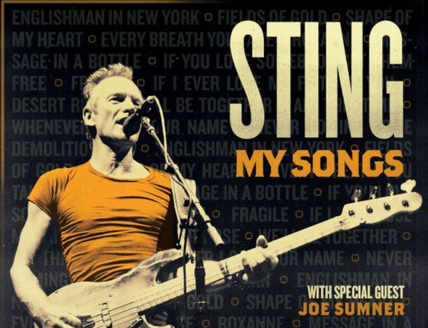 Ερχεται ο Sting στο Ηρώδειο – Πότε θα δώσει τις δύο συναυλίες