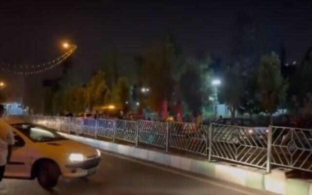 Έρευνα έπειτα από έκρηξη που σημειώθηκε νωρίτερα σήμερα σε πάρκο στην Τεχεράνη