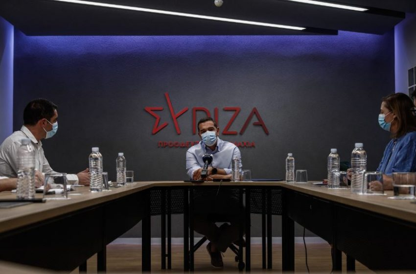 Τσίπρας σε εργαζόμενους Τρ. Πειραιώς: Οι τράπεζες έχουν ξαναγυρίσει στην ασύδοτη λειτουργία τους απέναντι στους εργαζόμενους