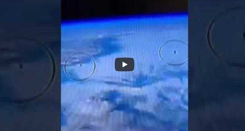 """Κυνηγός UFO μοιράστηκε βίντεο από live μετάδοση της NASA και έγινε χαμός από """"ουφολόγους"""" (vid)"""