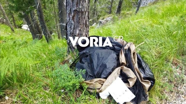 Βρέθηκε  η σκηνή και το σακίδιο του αγνοούμενου ορειβάτη στον Όλυμπο