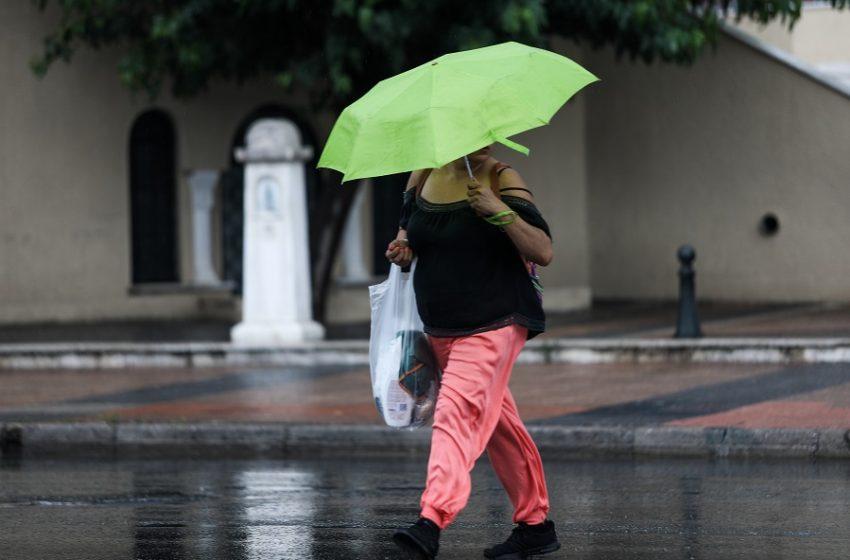 Ανατροπή: Βροχές, καταιγίδες, πτώση θερμοκρασίας μετά το… καμίνι