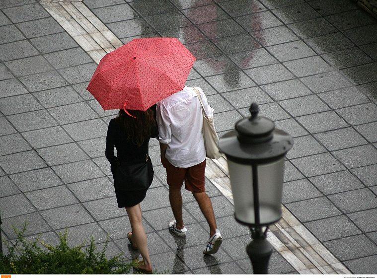 Βροχές και καταιγίδες στα ανατολικά και βόρεια