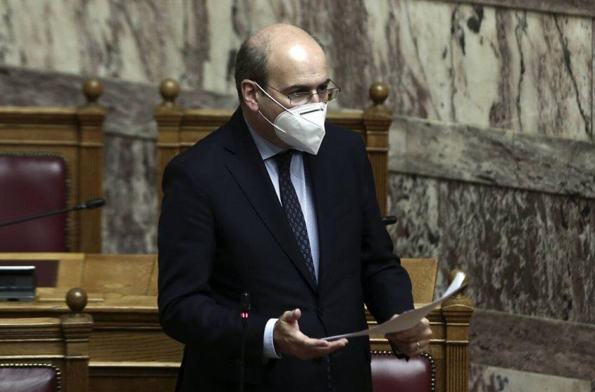 """Χατζηδάκης: """"Χορηγός"""" της κυβέρνησης η άστοχη αντιπολίτευση του ΣΥΡΙΖΑ"""